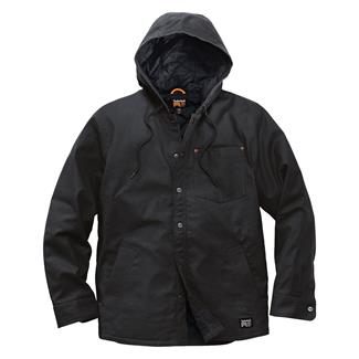 Timberland PRO Insulated Hooded Shirt Jacket Jet Black