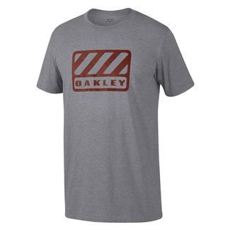 Oakley 50/50 Badge T-Shirt Athletic Heather Gray