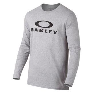 Oakley Long Sleeve Bark Repeat T-Shirt Heather Gray
