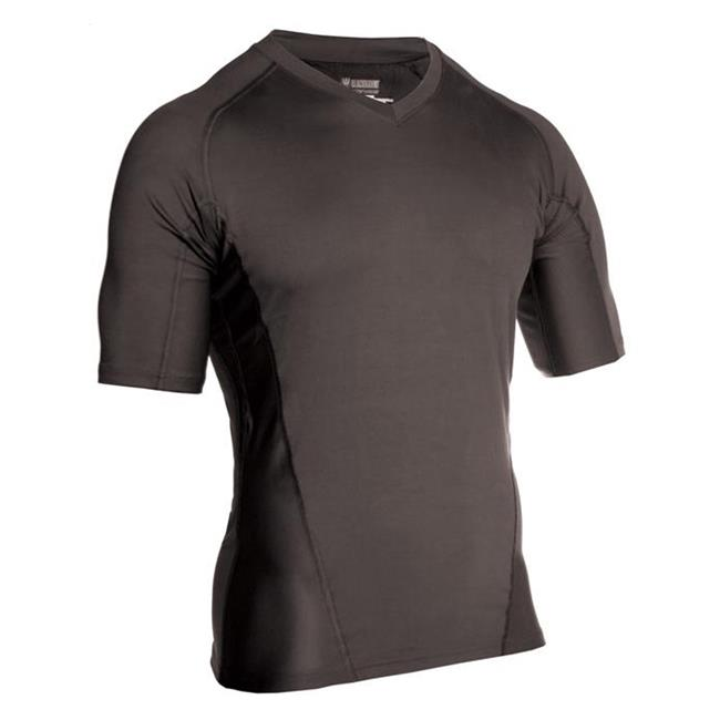 Blackhawk Engineered Fit SS V-Neck Shirts Black