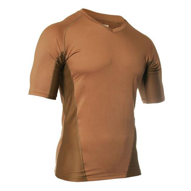 Blackhawk Engineered Fit SS V-Neck Shirts Coyote Tan