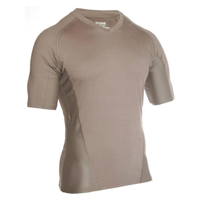 Blackhawk Engineered Fit SS V-Neck Shirts Foliage Green