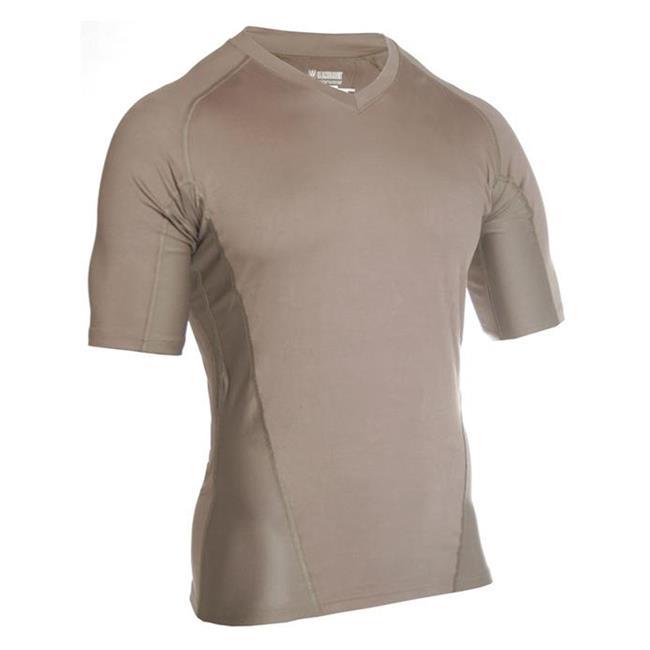 Blackhawk Engineered Fit SS V-Neck Shirts Foliage Green