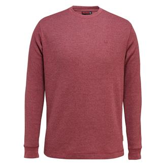 Wolverine Walden Long Sleeve T-Shirt Burgundy Heather