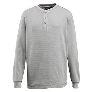 Wolverine Walden Long Sleeve Henley Ash Heather