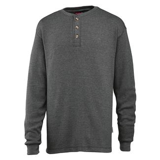 Wolverine Walden Long Sleeve Henley Granite Heather