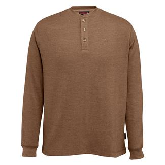 Wolverine Walden Long Sleeve Henley Bison Heather