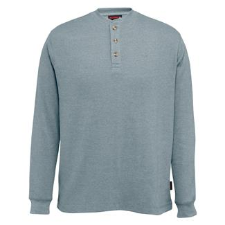 Wolverine Walden Long Sleeve Henley Hemlock Heather