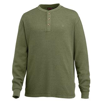 Wolverine Walden Long Sleeve Henley Olive Heather