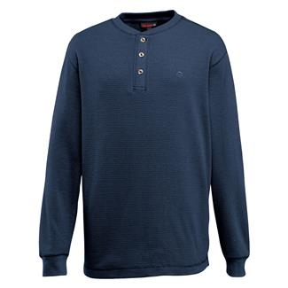 Wolverine Walden Long Sleeve Henley Navy Heather
