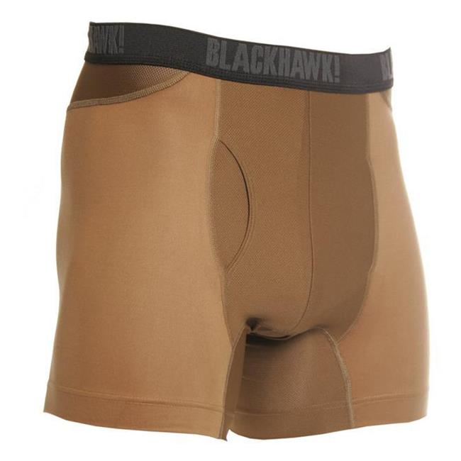 Blackhawk Engineered Fit Boxer Briefs Coyote Tan