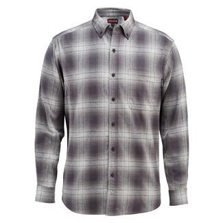 Wolverine Hammond Long Sleeve Flannel Shirt Granite Plaid
