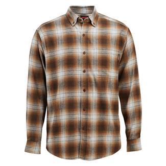 Wolverine Hammond Long Sleeve Flannel Shirt Espresso Plaid
