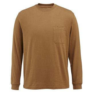 Wolverine Knox Long Sleeve T-Shirt Chestnut