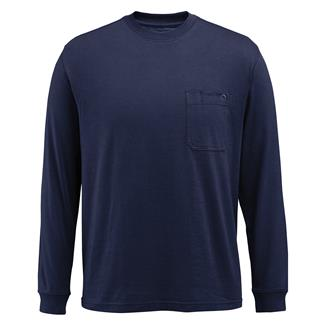 Wolverine Knox Long Sleeve T-Shirt Navy