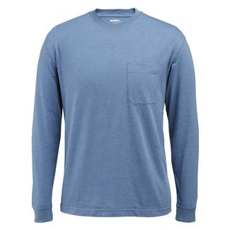 Wolverine Knox Long Sleeve T-Shirt Cadet Blue Heather