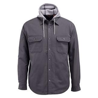 Wolverine Overman Hooded Shirt Jacket Granite