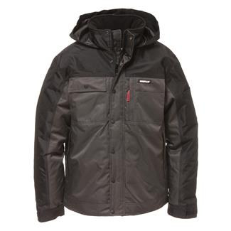 CAT Insulated Twill Jacket Graphite / Black