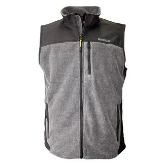 CAT Momentum Fleece Vest Dark Heather Gray