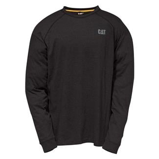 CAT Long Sleeve Preformance T-Shirt Black