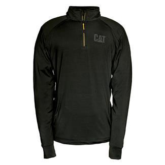 CAT Contour 1/4 Zip Sweatshirt Black