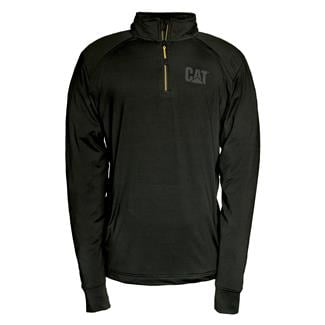 CAT Contour 1/4 Zip Sweatshirt Black