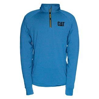 CAT Contour 1/4 Zip Sweatshirt Sapphire