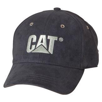 CAT Trademark Microsuede Cap Navy