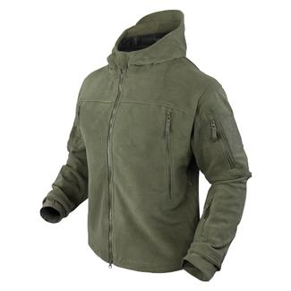 Condor Sierra Hooded Fleece Jacket Olive Drab