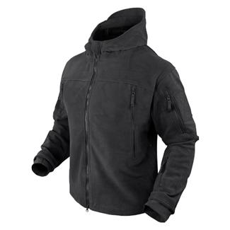 Condor Sierra Hooded Fleece Jacket Black