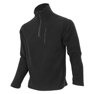 Condor 1/4 Zip Fleece Pullover Black