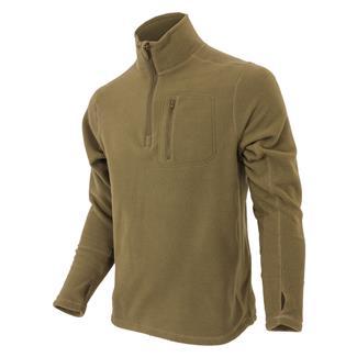 Condor 1/4 Zip Fleece Pullover Tan
