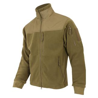 Condor Alpha Micro Fleece Jacket Tan