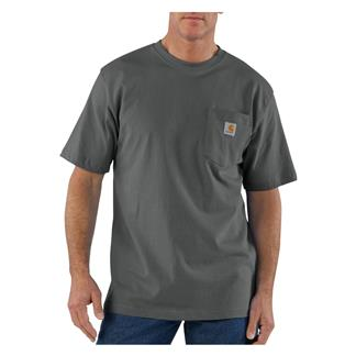Carhartt Workwear Pocket T-Shirt Charcoal