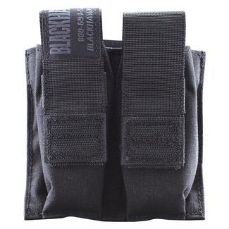 Blackhawk Double Pistol Mag Pouch with TalonFlex Black