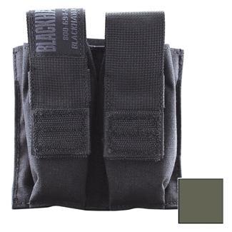 Blackhawk Double Pistol Mag Pouch with TalonFlex Olive Drab
