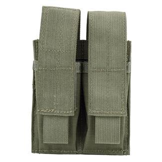 Blackhawk Double Pistol Mag Pouch with TalonFlex Ranger Green