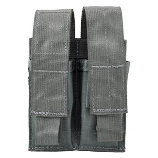 Blackhawk Double Pistol Mag Pouch with TalonFlex Urban Gray