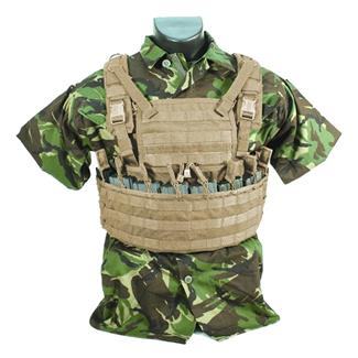 Blackhawk Enhanced Commando Recon Chest Harness Coyote Tan