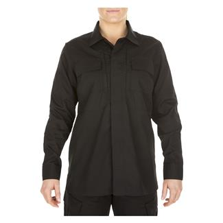 5.11 Poly / Cotton Ripstop Taclite TDU Shirt Black