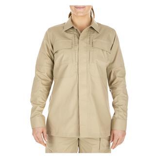5.11 Poly / Cotton Ripstop Taclite TDU Shirt TDU Khaki