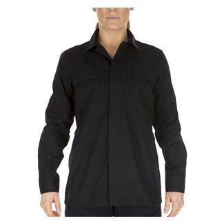 5.11 Poly / Cotton Ripstop Taclite TDU Shirt Dark Navy