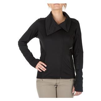 5.11 Kinetic Full Zip Shirt Black