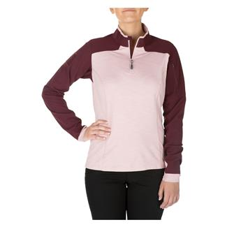 5.11 Rapid Half Zip Shirt Blush