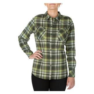5.11 Heartbreaker Flannel Shirt Swamp