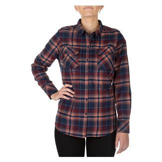 5.11 Heartbreaker Flannel Shirt Coral
