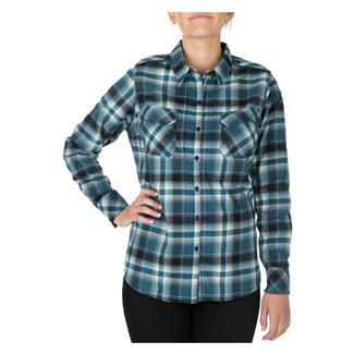 5.11 Heartbreaker Flannel Shirt Neptune