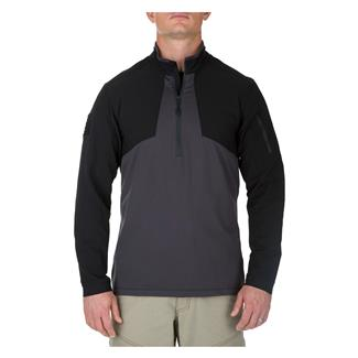 5.11 Thunderbolt Half Zip Shirt Charcoal