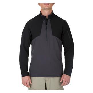 5.11 Thunderbolt Half Zip Shirt Charcoal