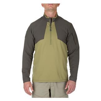 5.11 Thunderbolt Half Zip Shirt Underbrush